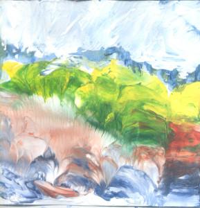 Livade pokraj Modre rijeke