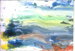 Modrozelena rijeka