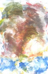 Uskomešani oblaci nad Modrom rijekom