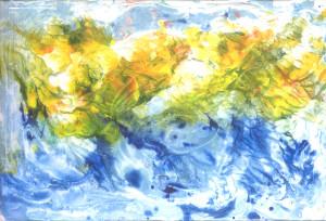 proljeće na valima mora