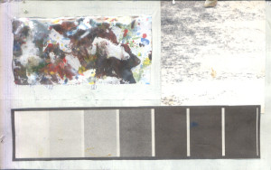 Šareno i nijanse crne