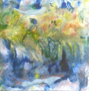 Potok i vrt