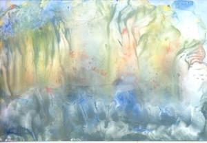 Prozračni krajolik Modre rijeke