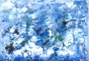 Snježna idila nad Modrom rijekom