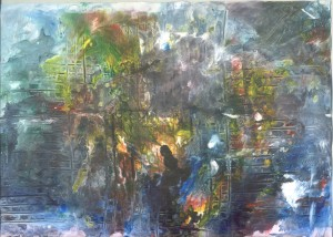 Životoslik Meri Cetinić četiri verzije u jednoj slici