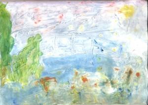 Mist na izvoru Modre rijeke