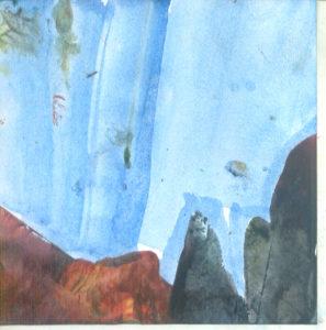 Plavet leprša