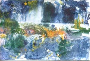 proljetni vodopad