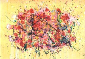 Crvena jesen ruža
